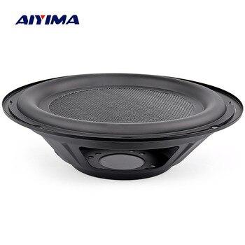 AIYIMA 8Inch Audio Speakers Passive Radiator Diaphragm Bass Radiator Subwoofer Speaker Repair Parts Accessories DIY Home Theater subwoofer