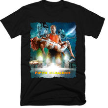 El Quinto Elemento película Homme Camiseta Tee camisa Hip Hop Ropa Camisetas  3D impresión T camisa marca T camisas grande tamaño. 038bf06888e
