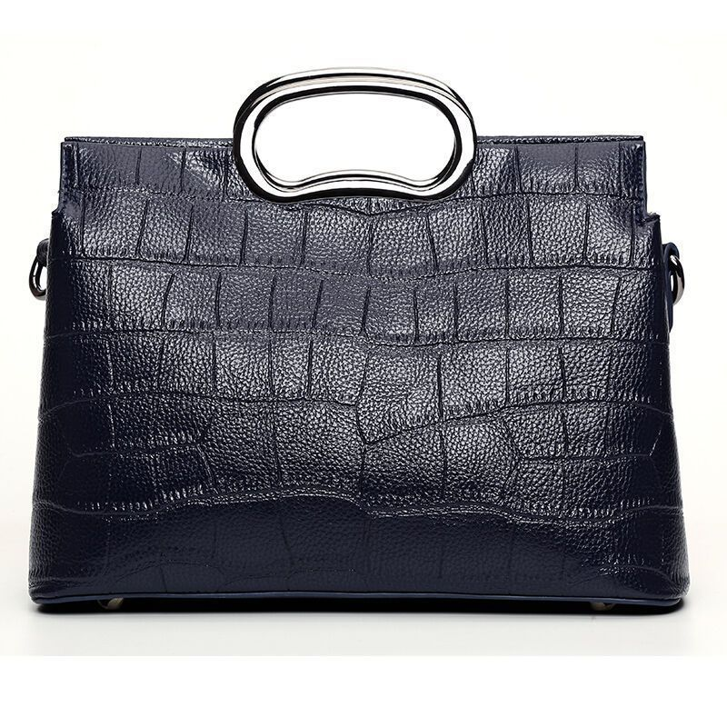 LOEIL Women's bag shoulder portable slung PU crocodile pattern shoulder Messenger bag handbag lady цена