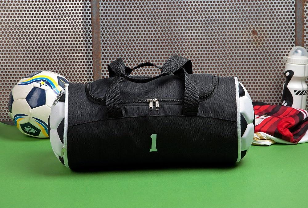 2018 Nylon Mäns resväskor Stor kapacitet fotbollsportsporter Mäns - Väskor för bagage och resor - Foto 2
