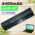 4400mAh battery  for  Dell Inspiron 1410 Vostro 1014  1015 1088 A840 A860 A860n 312-0818 451-10673 F286H F287F F287H G069H R988H