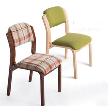 yingyi new design modern wood dining chair without arms good