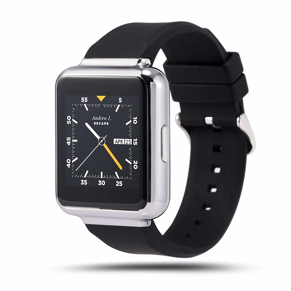 Smart Watch Q1 MTK6580 Android 5 1 OS 1GB 8GB 1 54 Display Clock WiFi GPS