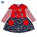 Novatx Девушка платье дети девочка одежда для новорожденных девочка платье мода дети Платье для девочки детская одежда