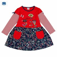 Retail Novatx Flower Girl Dress Long Sleeve Fashion Kids Baby Girl Clothes For Baby Girl Party
