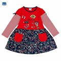 novatx Girl dress kids baby girl clothes for baby girl party dress fashion kids Dress for girls children clothing