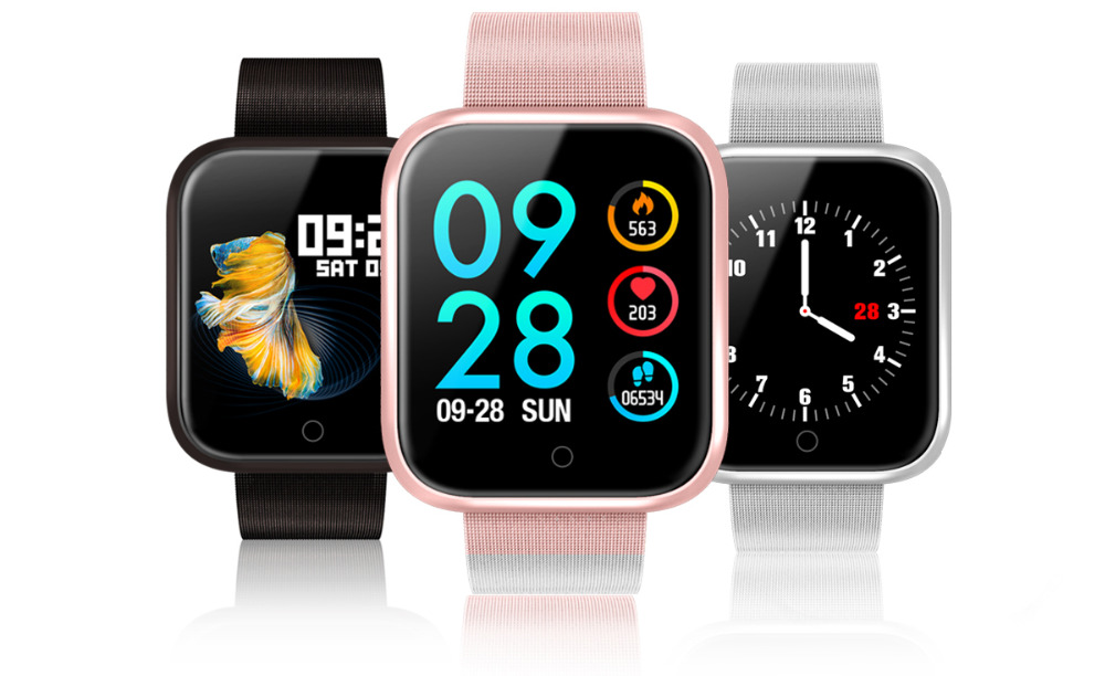 Original P70 Smart Watch Bracelet With Blood Pressure Heart Rate Monitor Pedometer Fitness Tracker Smartwatch for