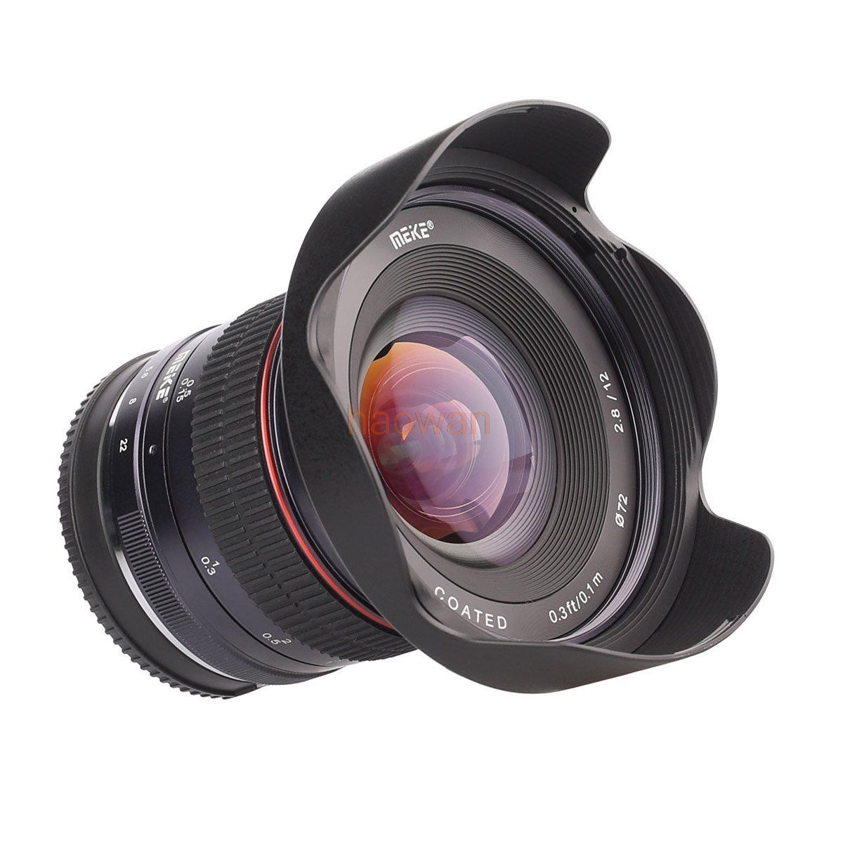 12mm F2.8 f/2.8 Wide Angle manual Fixed Lens for canon ef-m eosm/m3/m5/m10 mirrorless camera