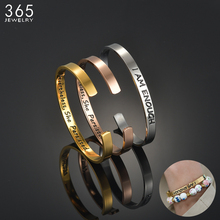 Hot Sale Stainless Steel I Am Enough Bracelet For Women Men