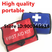 empty medical first aid kit bag for factory ,earthquake,home,travel kit bag handbag,nylon portable pouch