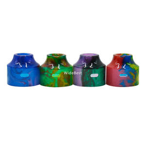 Cheap Replacement Top Cap Bell Cap Resin Cap For Wasp Nano RDA Tank