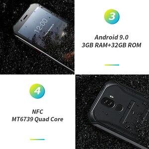 "Image 4 - 3GB + 32GB DOOGEE S40 5.5 ""HD 4G شبكة هاتف محمول وعر IP68 مقاوم للماء 4650mAh 8MP MT6739 أندرويد 9.0 فطيرة الهاتف الذكي"