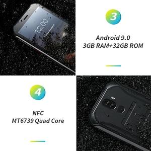 "Image 4 - 3GB+32GB DOOGEE S40 5.5"" HD 4G Network Rugged Mobile Phone IP68 Waterproof 4650mAh 8MP MT6739 Android 9.0 Pie Smartphone"