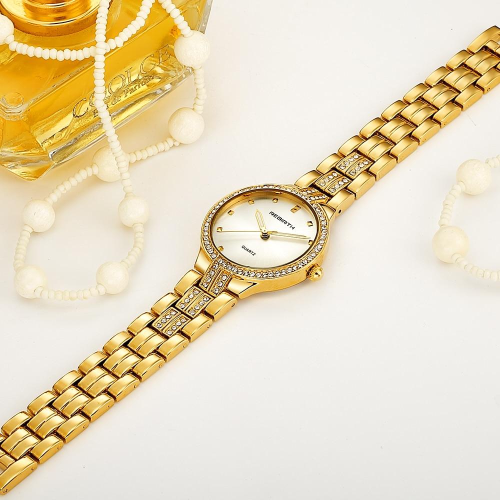 Fashion Rhinestone Watches Women Brand Luxury Crystal Watch Rose Gold Silver Luxury Ladies Bracelet Watches Dress Montre Femme 4