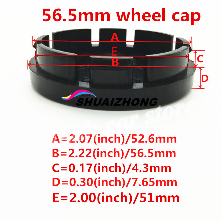 Image 5 - LADA Car Wheel Center Hub Cap Badge Sticker car wheel Dust proof covers 3d logo Decal car styling accessories 4pcs 56.5/56/60mm-in Wheel Center Caps from Automobiles & Motorcycles
