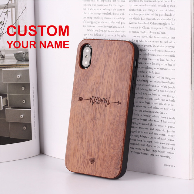 Us 10 79 10 Off Archer Heartbeat Lover Cupido Love Personalized Custom Wood Phone Case For Iphone Xs Max 7 7plus 8 8plus X Sasmung S7 S8 S9 In