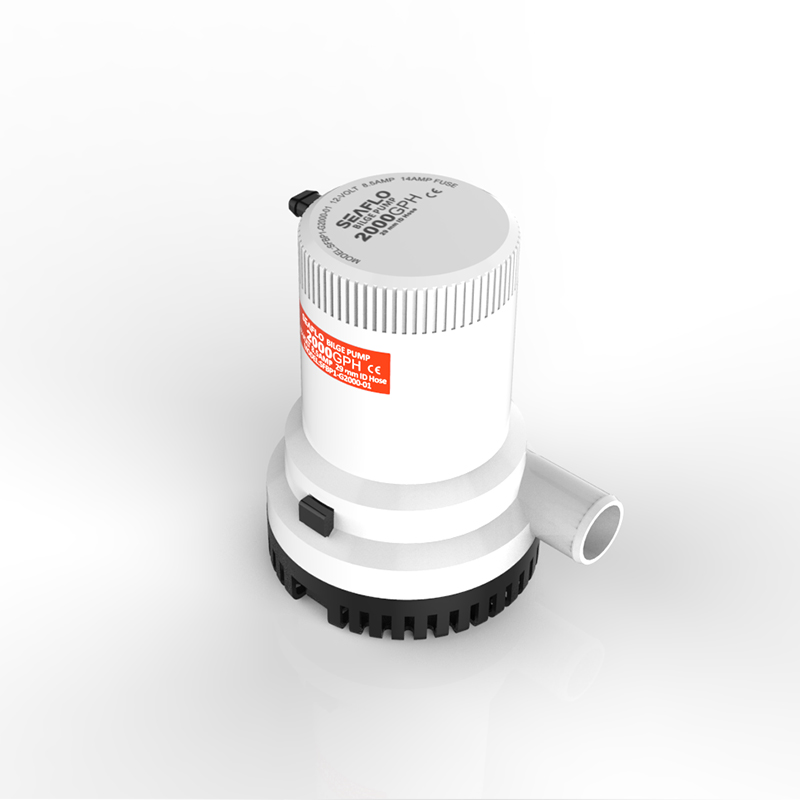 SEAFLO 2000GPH Boat Marine Bilge Pump 12 Volts Non Automatic NEW High  Efficiency Replace Rule