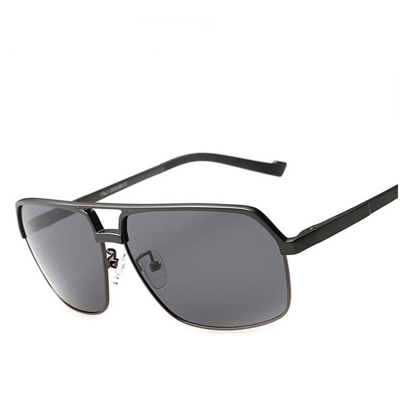 5205e5f444be DUOYUANSE aluminum magnesium polarizing sunglasses high end men s sun  glasses 8549 driving glasses wholesale and box-in Sunglasses from Apparel  Accessories ...