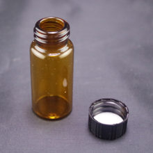 Sample bottle 10ml brown glass screw top each bid for 1pc(China)