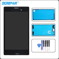 5 0 Black For Sony Xperia M4 Aqua E2303 E2353 E2333 LCD Display Touch Screen With