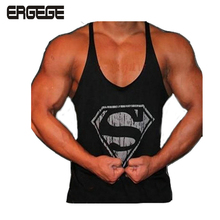 bodybuilding Professional fitness Tank tops cotton vest paragraph bodybuilding Tank top for men musculation