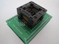 Opentop QFP44/TQFP44/LQFP44 OTQ 44 0.8 06 IC spalania siedzenia Adapter testowania miejsce badania gniazdo stanowiska do badań w magazynie|bench|bench testbench seat -