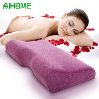 Velvet Cover Bed Cervical Orthopedic Pillow Magnetic Therapy Pillows Neck Head Care Anti Bacterial Anti Mite
