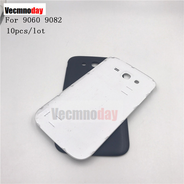 Vecmnoday 10pcs/lot 5.0'' For Samsung Galaxy Grand Duos GT-i9082 i9082 i9060 Housing Back Cover Rear Battery Door Fundas Replace
