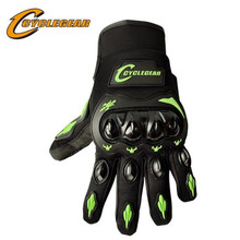 CYCLEGEAR 666 Screen-Touch Motocross Off Road Gloves ATV Racing Guante Motorcycle Full Finger Protection Glove motorcycle off road racing rider anti touch screen leather gloves