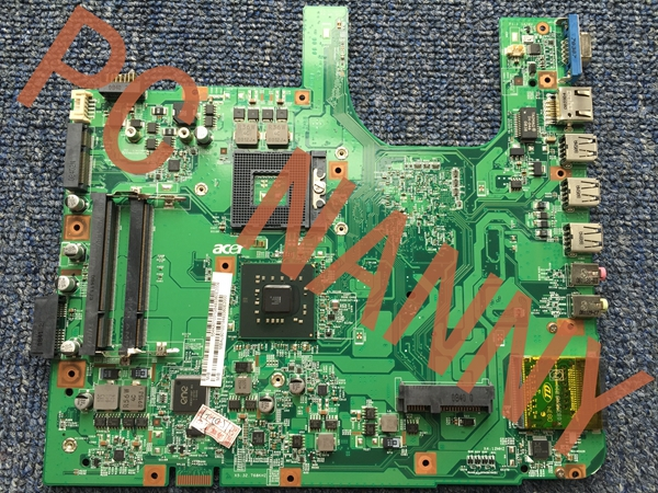 MBAU901001 48.4K801.011 FOR ACER 5337 5335 5735 laptop motherboard Mainboard DDR2 GM45HD graphics + free CPU working