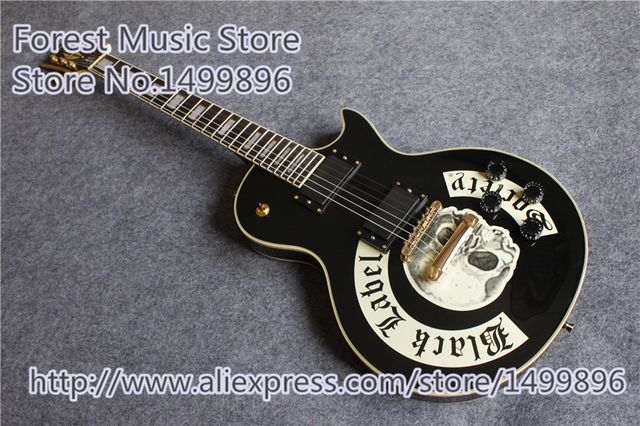 Cheap China Black Label Society LP Custom Electric Guitars Same As Picture For Sale