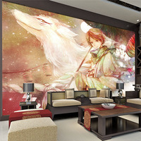 Custom Large Anime Photo wallpaper Room Decor Natsume's Book of Friends Wall Mural Art wall painting Bedroom background wall