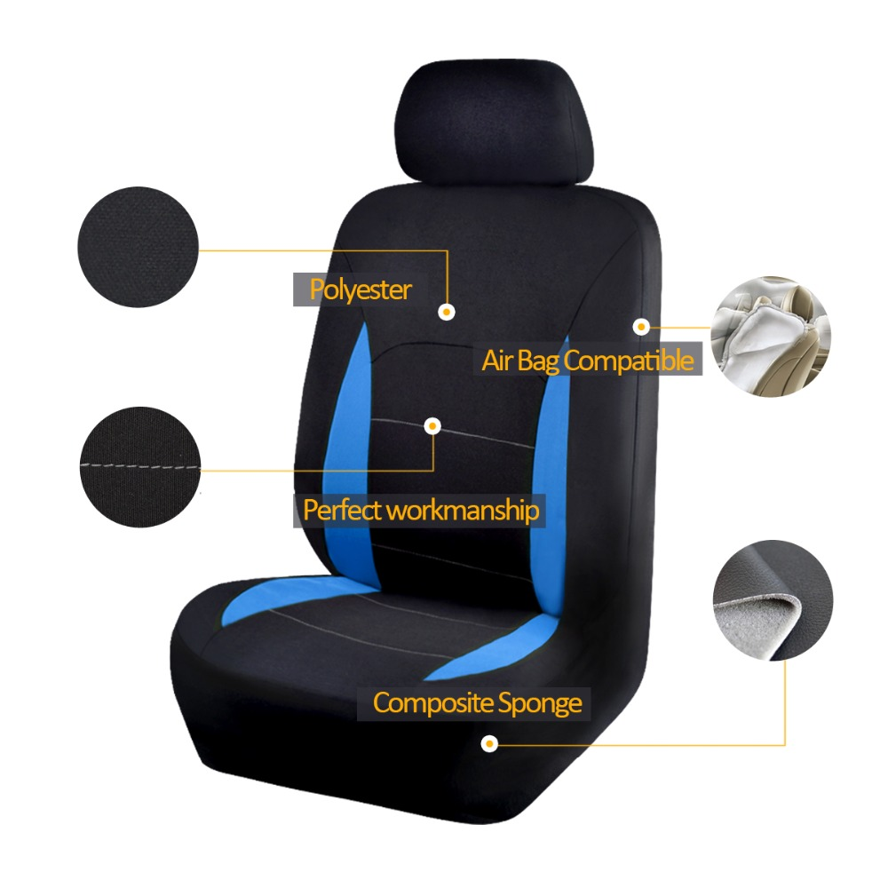 Image 2 - Car Seat Covers Universal Auto Seat Covers For Car Seat Protector Interior Accessories Car Styling-in Automobiles Seat Covers from Automobiles & Motorcycles