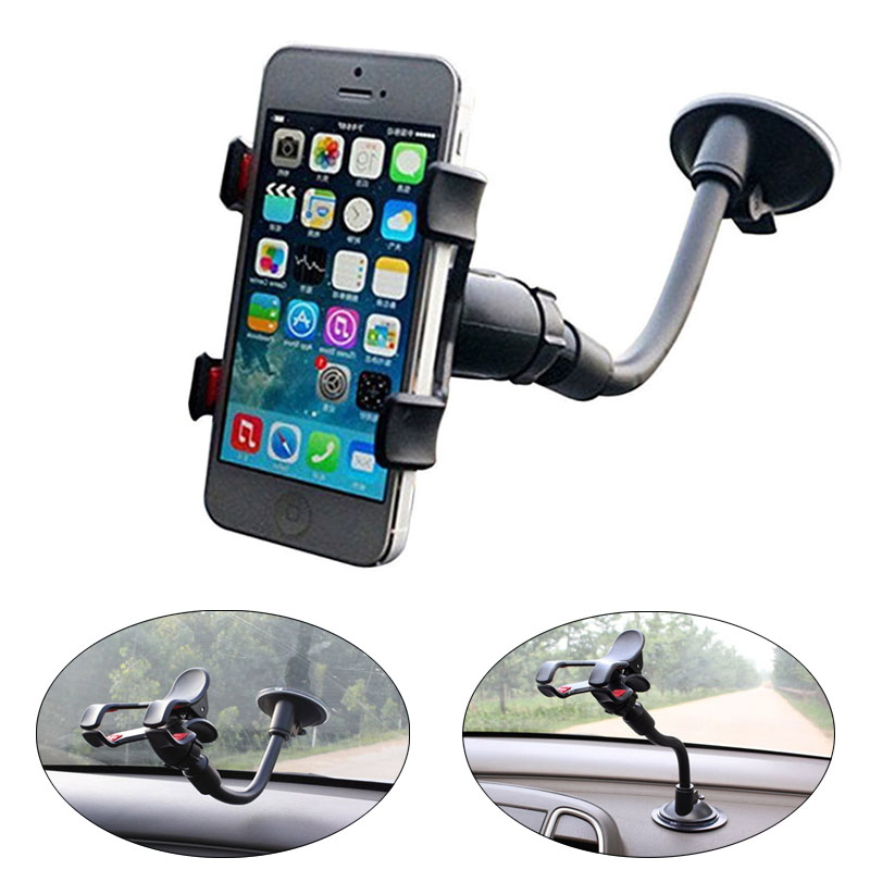 360 Degree Rotation Universal Car Phone Holder Mount Stand Cradle Dock for iPhone Samsung HTC LG Huawei Lenovo etc