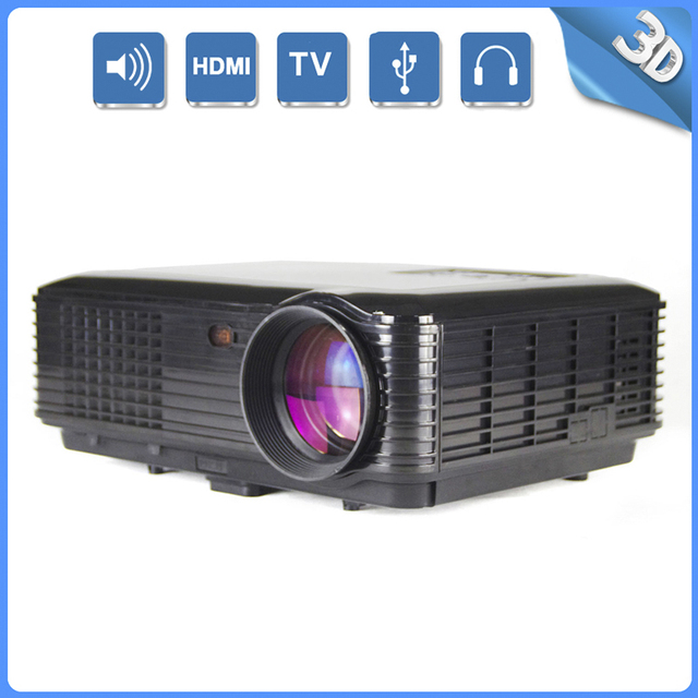 Thinyou New Arrival Full HD multimedia LED Projector Support 3D for Business Speech Home Cinema Education videoprojecteur beamer