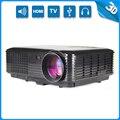 Thinyou Nueva Llegada Full HD multimedia Home Cinema Proyector LED Soporte 3D para Hablar De Negocios Educación beamer vidéoprojecteur