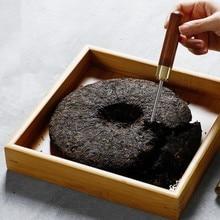Черный чай пуэр, нож для чая, инструмент для кунг-фу, игольчатый чайный конус для чая пуэр, торта, чайные кирпичные резаки, топ