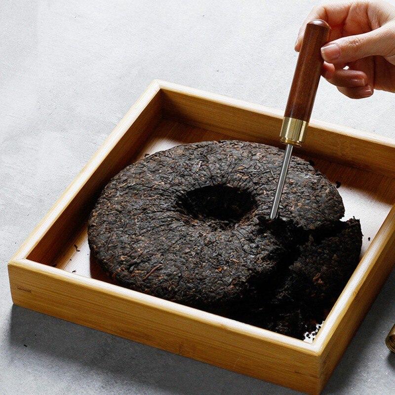 สีดำชา Puer ชา Kungfu ชาเครื่องมือเข็มกรวยชาสำหรับชา Puerh เค้กชาอิฐ Cutters 2019 TOP