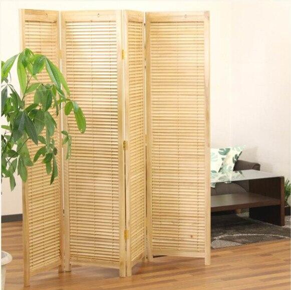 estilo oriental panel biombo tabique particin decorativa muebles de madera biombo asitico japn porttil