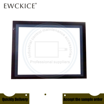 NEW NS12-TS00B-ECV2 NS12 HMI PLC Front label Industrial control sticker  Industrial control maintenance accessories new ns12 ts00b v2 ns12 hmi plc touch screen panel membrane touchscreen