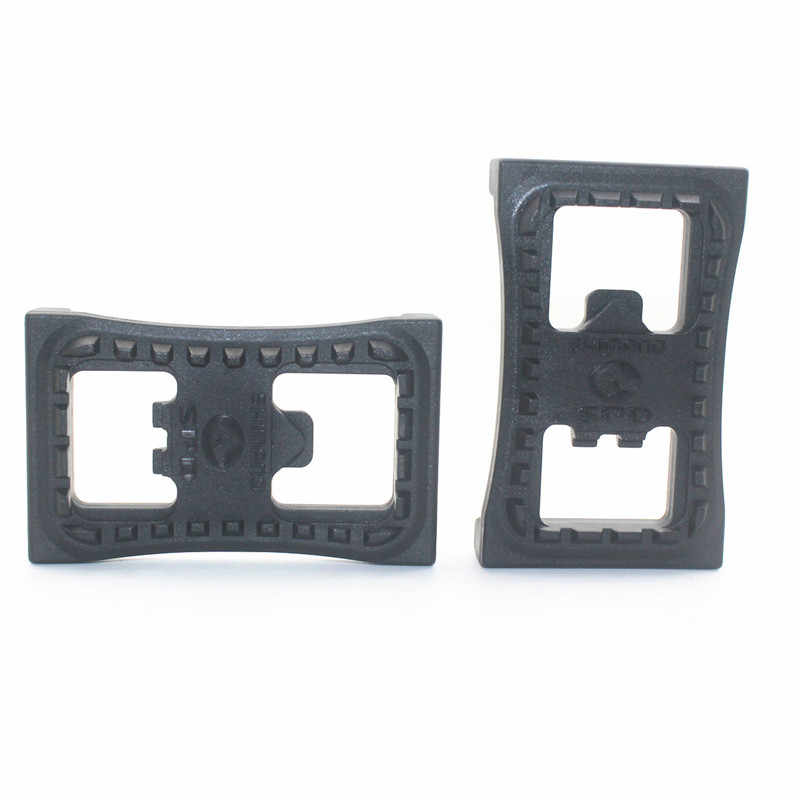 cec92210e40 ... Mtb Bike Clipless Pedals Platform Adapters SM-PDSS For SHIMANO SPD  Pedal Cleat Flat M520 ...