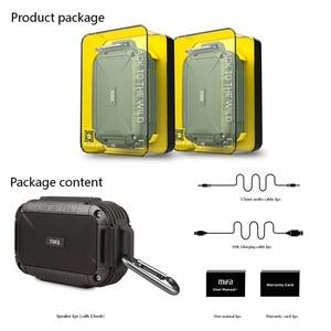 Image 5 - MIFA F7 Bluetooth Speaker IP56 Dust Proof Water Proof Speakers AUX Wireless Portable Outdoor Speakers Metal Soundbar LoudSpeaker