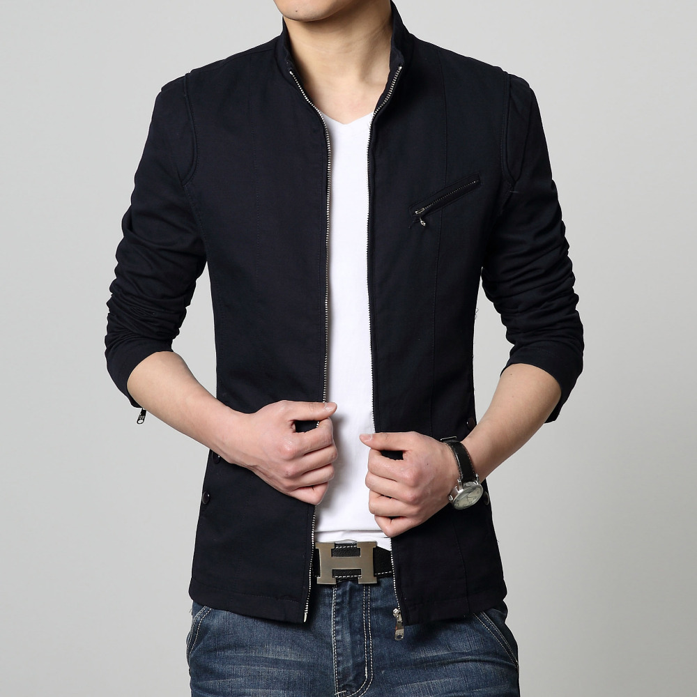 Buy New Design Fashion Jacket Men Stand