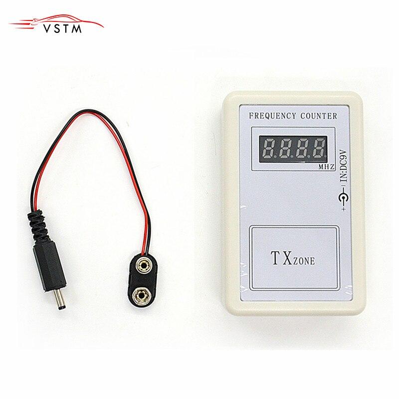 VSTM новый пульт дистанционного управления передатчик Мини цифровой счетчик частоты (250 МГц-450 МГц) измеритель частоты сканирующий волнометр