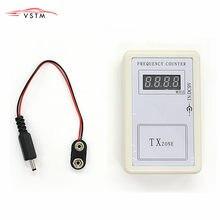 Vstm novo transmissor de controle remoto, mini contador de frequência digital (250mhz-450mhz), medidor de frequência, aparelho de onda