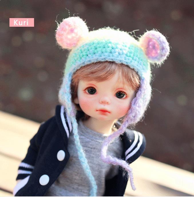 stenzhorn  New arrival Kuri 6 points doll bjd doll high quality sale free eyes