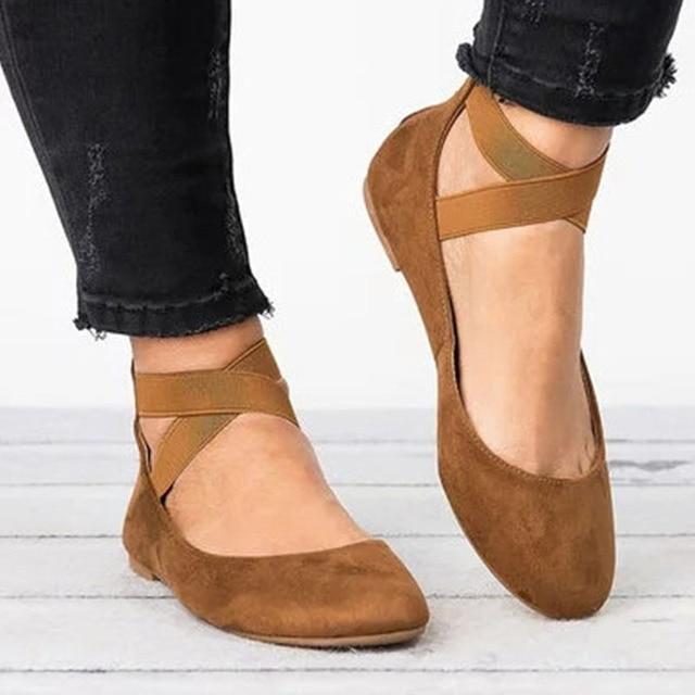 3d569248b3 Women flats 2018 Summer Ankle Wrap Lace Up Shoes Women Flat Heel Bottom  Shoes Woman ballet Flats women loafers