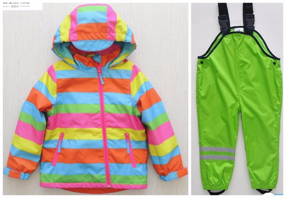 Male girl in autumn and winter child windproof waterproof baby clothes set child thickening outdoor ski suit jacket girl child empowerment in zimbabwe