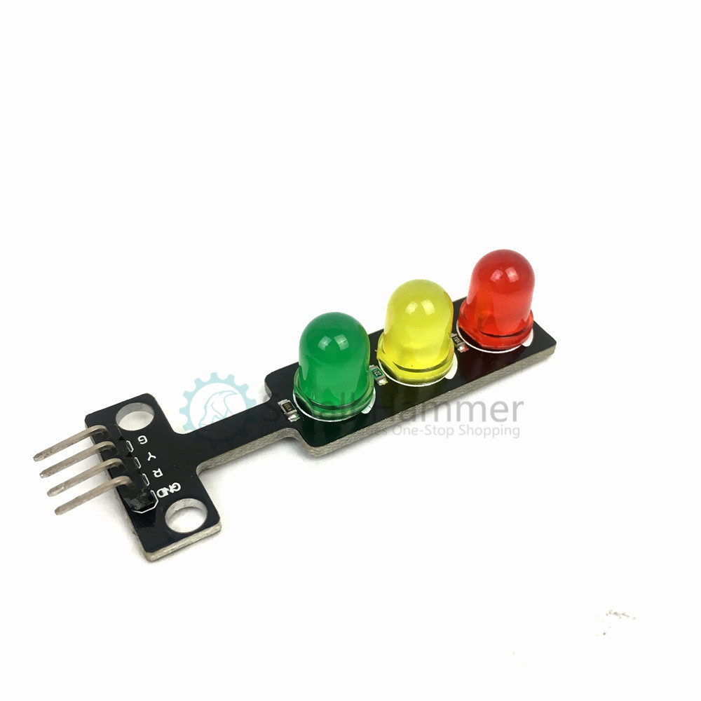1pcs LED Traffic Light Module 5V Traffic Light Module