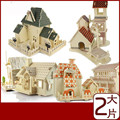 The New 3D House Puzzles Wooden Building Simulation Model Wholesale 3d Puzzle For Children Toys